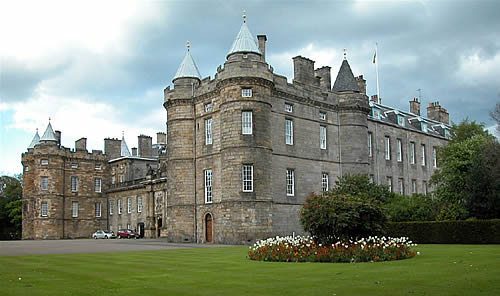 Palatul Holyroodhouse Edinbourgh Scotia